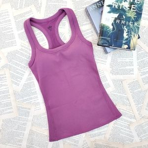NWOT ALO YOGA Support Ribbed Racerback Tank Top